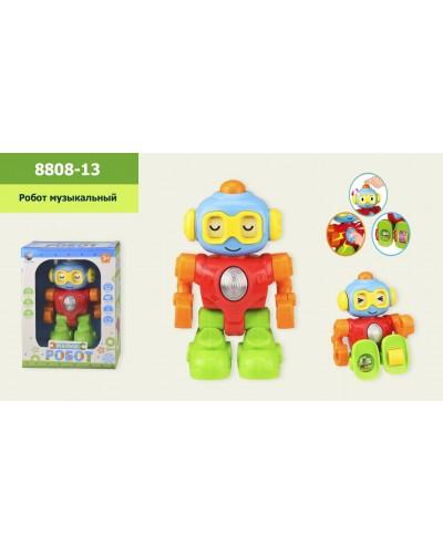 Робот-малыш 8808-13 (T65-D5306) свет, звук в коробке 18.5*10*26 см