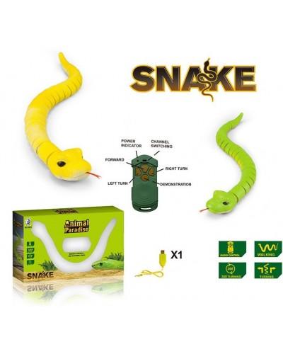Животное на р/у 8904 змея, 2 цвета, пульт, в кор. 46*5*4см