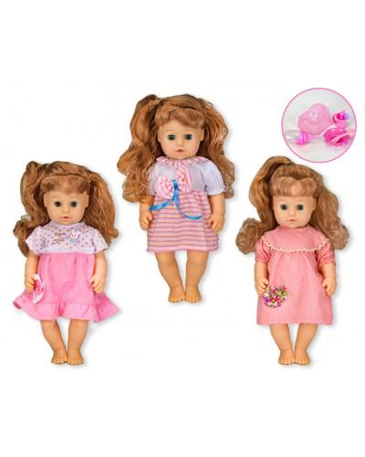 """Кукла функц """"Сладкая малышка"""" 319009A/A1/A3 (T13203/4/6) 3 вида, пьет-пис, можно купать, в кор."""
