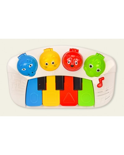 Муз.пианино 6166 свет, звук, в кор. 27*6*22см