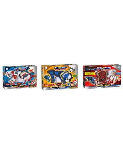 Трансформер 536-1 3 модели: 2-животные, 1-магический куб, в кор. 30*8*23см
