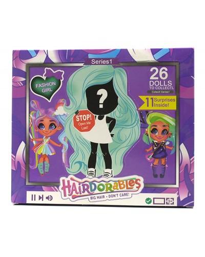 "Кукла ""H"" ZR-321 4 вида, с аксессуарами, в кор. 21*18*5,5 см"