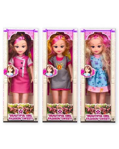 Кукла  муз. 8218  3 вида, звук, в кор.15,5*8,5*43см