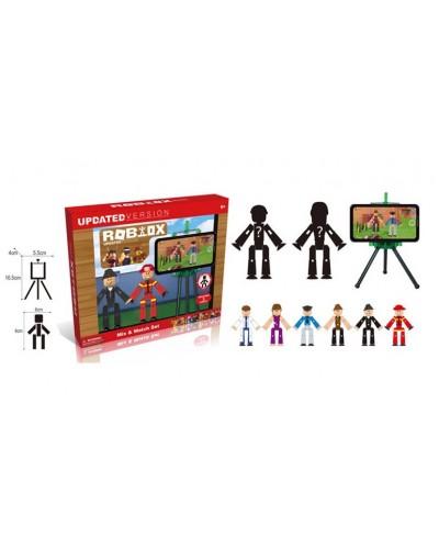 Набор для анимации RX-03 экран, 2 фигуры, в коробке 23*19*4см