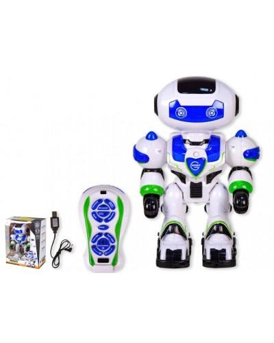 Робот аккум. р/у 99555-2 свет, звук, в кор. 28*15*37,5см