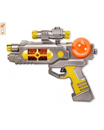 Пистолет муз. ZS.139 (1562732) батар., в пакете 21,5*33см