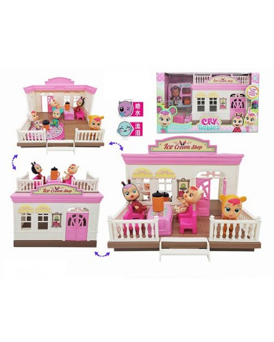 """Пупс """"CB"""" TM335 домик, мебель, аксессуары, в кор. 39*16*21,5 см"""