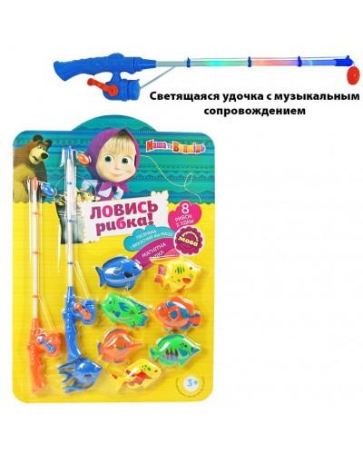 Рыбалка MM-2802-U 2 магнит. удочки, 8 рыбок, на планшетке 45*64 см