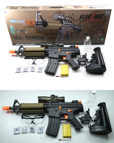 Снайперская винтовка 3337 батар., лазер, в кор. 79,2*9*31см, стреляет гелевыми пулями