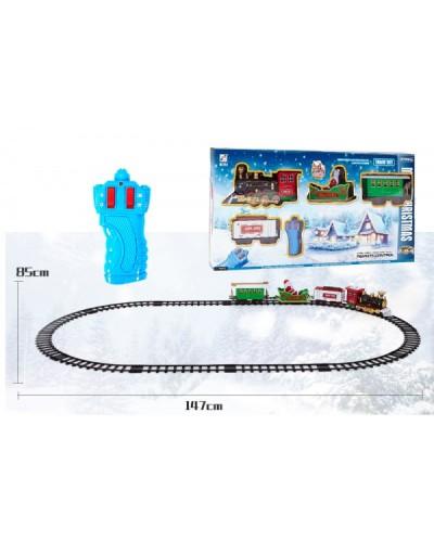 Железная дорога р/у 239-6 в собранном виде р-р 147*85 см, в кор