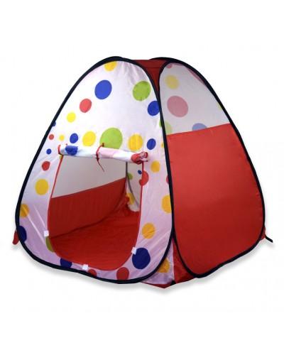 """Палатка GFL-037 """"изделие (91*100*91), материал - полиэстер, в сумке d40см"""