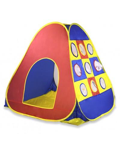"""Палатка GFL-039  """"изделие (104*110*104), материал - полиэстер, в сумке d40см"""