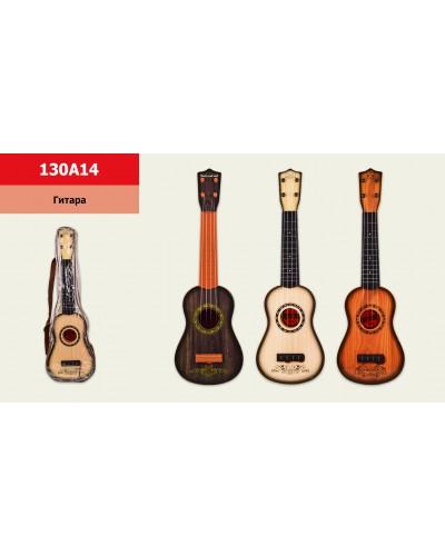 Гитара 130A14 с ремешком, в чехле 55*19*7см