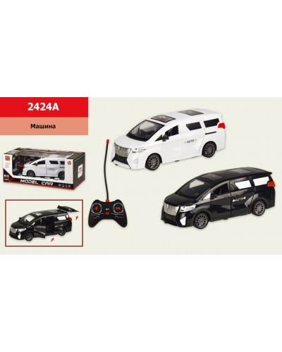 Машина батар р/у 2424A Toyota Alphard, р-р машины 21*8*8,5см, в кор. 28*11*13 см