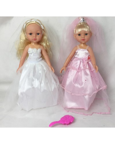"Кукла ""Isabella"" R102K 2 вида, c аксесс, в пак.18*4*8см"