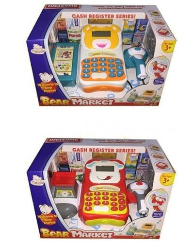 "Кассовый аппарат ""Bear"" LT8802-1AA/1AB 2вида, калькулятор, сканер, товар в кор. 33*23*19см"