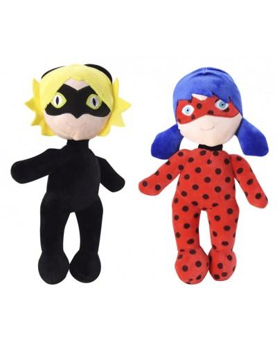 "Кукла мягкая""M""CEL-190 2 вида, в пакете 56*39см, кукла - 30 см"
