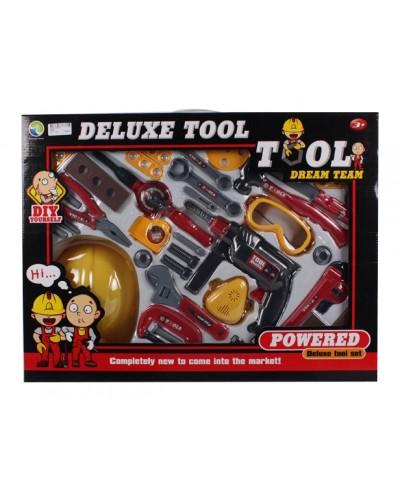 Набор инструментов Z66B дрель, отвертка, молоток  и т.д. в кор. 60*45*9 см