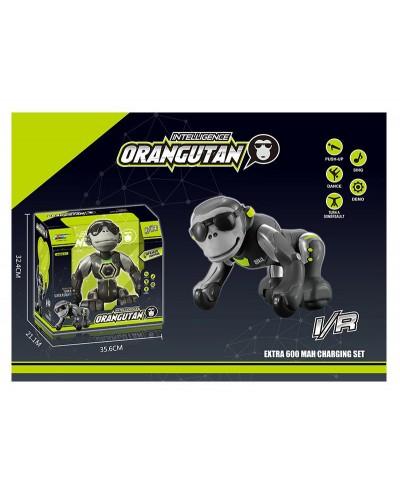 Робот-обезьяна аккум. р/у K12 танцует, поет, переворачивается, в коробке 35,6*21,1*32,4см