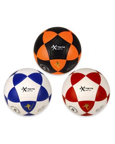 Мяч футбол FB190836 №5, PVC, 3 цвета