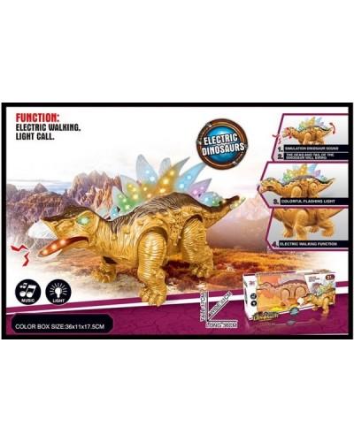 Интерактивное животное 855A (48шт/2)динозавр,батар.,свет,звук,в коробке 36*11*17,5см