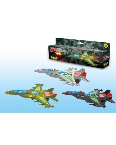 Самолет F35 F35 истребитель, батар., 3 вида, в кор. 31*25*9см