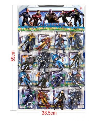 Герои 34910 цена за планш 16шт, отрывн. на планш. 38,5*59 см