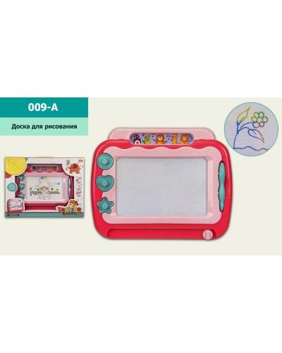 Досточка магнит.  009-A цветн, р-р игрушки – 30*24*3 см,  в коробке 40,5*4*30,5см
