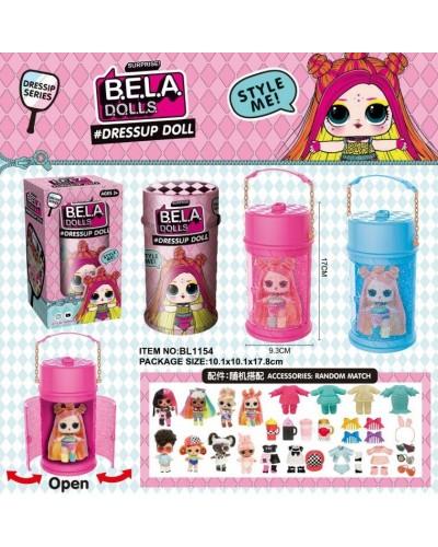 Герои Bela Dolls BL1154 имеют разноцветные волосы, капсула 16см