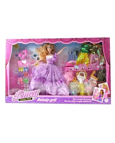 """Кукла типа """"Барби"""" 303-C6 с платьями, в кор."""