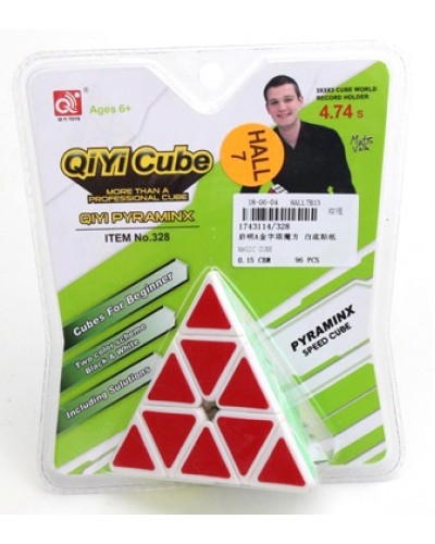 Кубик логика 328 (1743114) треугольный, на блистере 18,5*15,5*5,5см