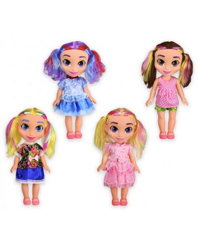 """Кукла """"H"""" 9325 (1857047) 4 вида, р-р игрушки – 34 см, в кор. 15,5*10,5*36,5 см"""