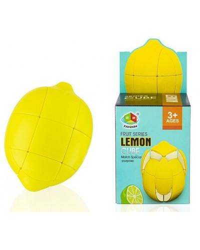 Кубик логика FX8802 Лимон, в коробке 6*6*8см