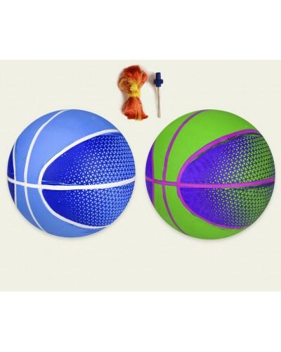Мяч баскетбольный BB20149 № 6, резиновый, 533 грамм, MIX 2 цвета