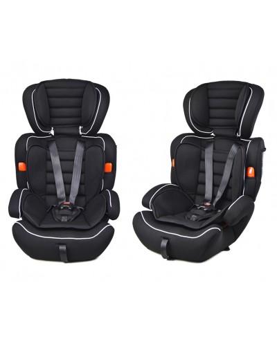Автокресло AS0111 группа 123, черный, 9-36 кг,5точечный ремень безопасности