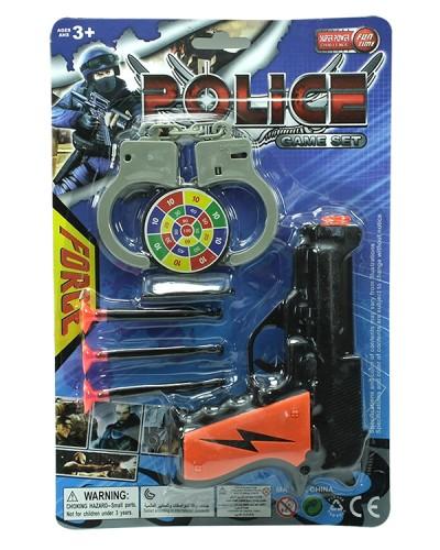 Полицейский набор A088 на планшетке 28*19*3см