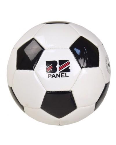 Мяч футбольный CE-102604 №5, PVC, 310 грамм, белый