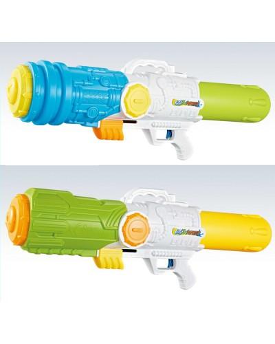 Водный пистолет M5000-5B/6B с насосом, в пакете 80см