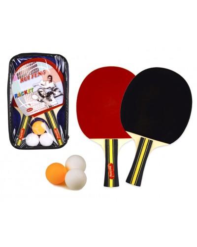 Набор для настольного тенниса TT2023  2 ракетки, 3 мячика