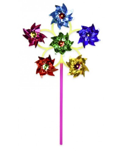 Ветрячок SC20455  6 цветков 9 см