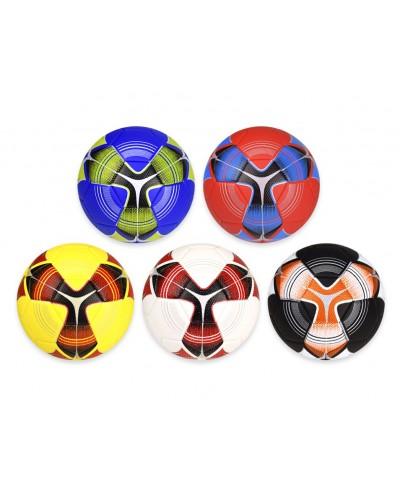 Мяч футбольный FB20142 № 5, PU, 350 грамм, MIX 5 цветов