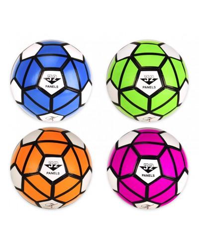 Мяч футбольный Z00025 №5, PVC, 300 грамм, MIX 4 цвета