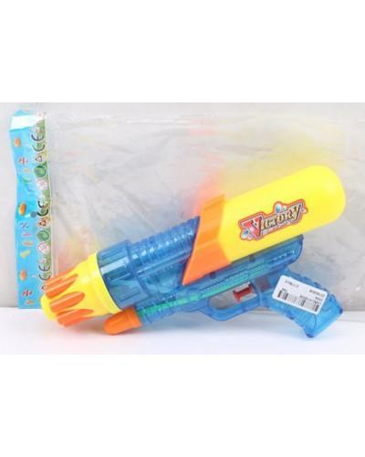 Водяной пистолет 3304  в пакете, 25*14*5см