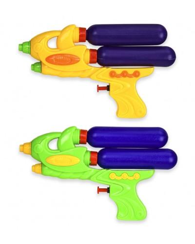 Водяной пистолет 3908-2  2 цвета, р-р игрушки - 23см, в пакете 17*25см