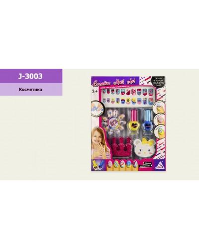 """Косметика """"Маникюр"""" J-3003  лаки, наклейки, аксессуары для ногтей, в кор.18,5*3,5*23,5 см"""