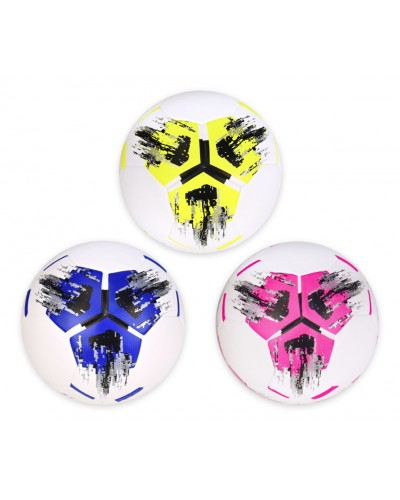 Мяч футбол F33457  №5, TPU, 400 грамм, 3 цвета