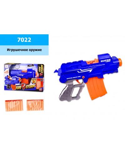 Бластер батар. 7022 с пороллон. снарядами, в откр. кор. 41,5*8*27,5 см, р-р игрушки – 31 см