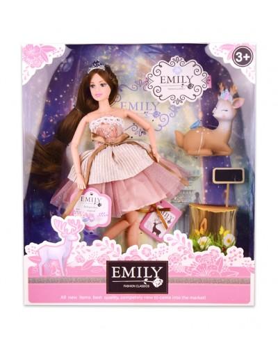 """Кукла  """"Emily"""" QJ087 с аксессуарами, р-р куклы - 29 см, в кор. 28,5*6,5*32,5см"""