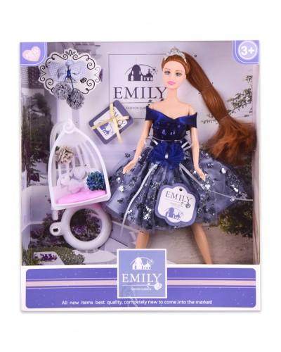 """Кукла  """"Emily"""" QJ089 с аксессуарами, р-р куклы - 29 см, в кор. 28.5*6.5*32.5 см"""