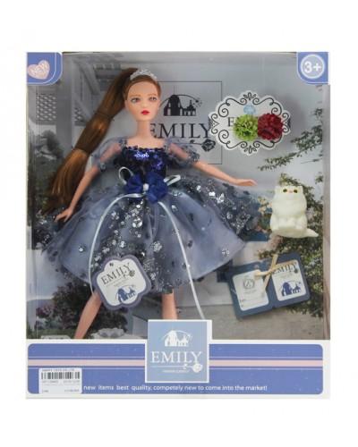 """Кукла  """"Emily"""" QJ089C с аксессуарами, р-р куклы - 29 см, в кор. 25,8*6,5*32,5см"""